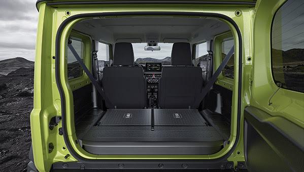Kofferraum Suzuki Jimny