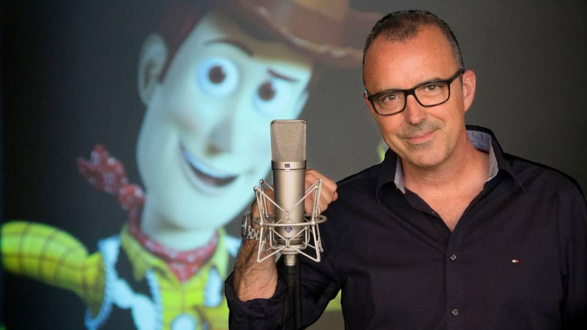La voz de Woody se pone en 'huelga'