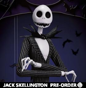 The Nightmare Before Christmas Dynamic 8ction Heroes DAH-019 Jack Skellington