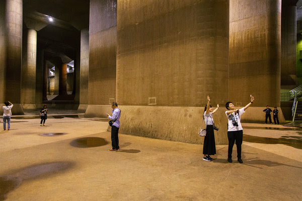 东京在抗洪系统上耗资20亿美元,旨在应对气候变化带来的极端天气。