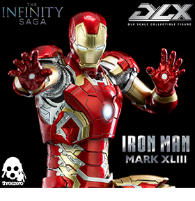 Avengers: Infinity Saga DLX Iron Man Mark XLIII 1/12 Scale Figure