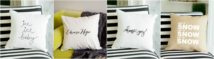 Holiday Pillow Covers- Starting at 2 for $22!