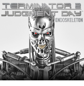 TERMINATOR 2 TWELFTH SCALE SUPREME T-800 ENDOSKELETON FIGURE