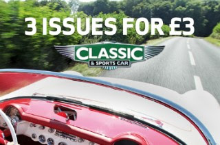 Classic & Sports Car magazine offer
