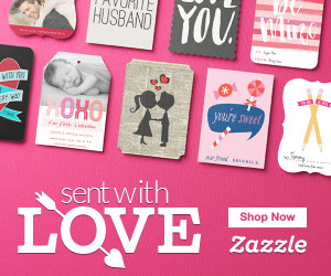 Zazzle - 50% off Valentine`s D...