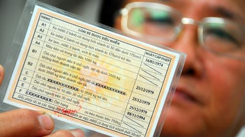 Tranh cãi, giấy phép lái xe số, tự động, sửa đổi, thông tư