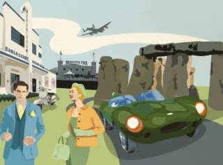Life-sized Stonehenge replica to be raised at Goodwood