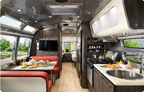 [image: Interior of an Airstream]