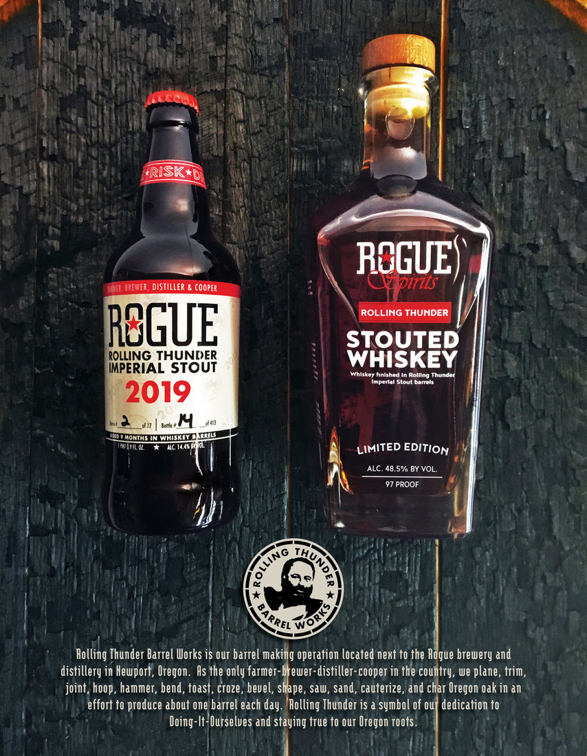 Rogue Introduces First-of-its-Kind Stouted Whiskey