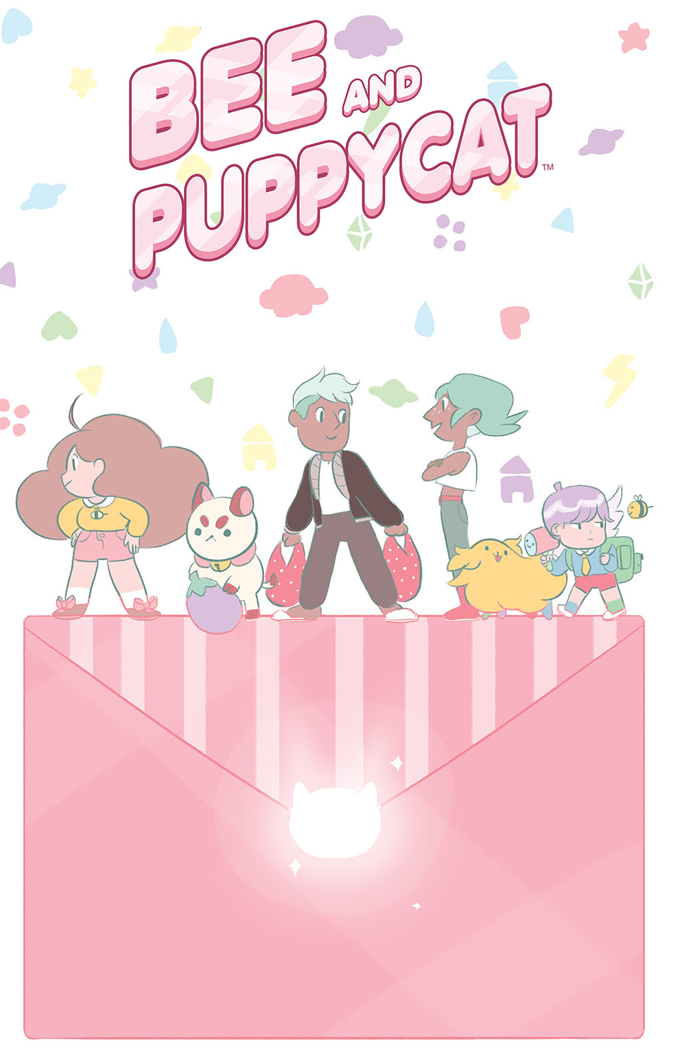 BEE AND PUPPYCAT #4 Cover A by Natasha Allegri