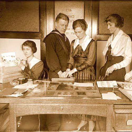 The Fingerprint Girls of WWI 2