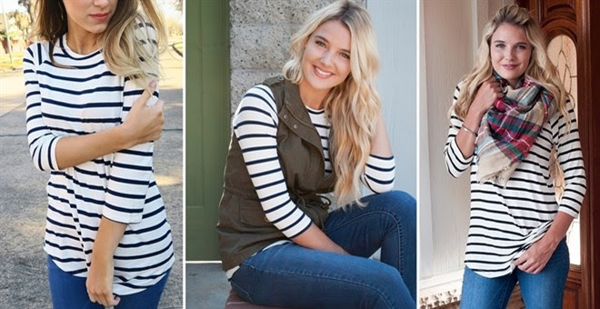 The Perfect Striped Tunic + Mo...