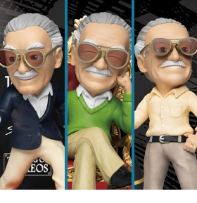 Stan Lee Mini Egg Attack MEA-023 Set of 3 Figures