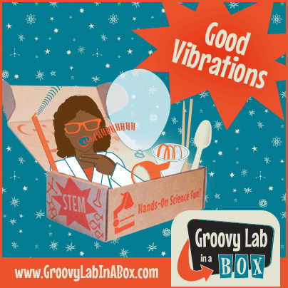 Good Vibrations October box by Groovy Lab in a Box