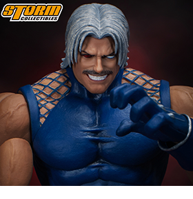 THE KING OF FIGHTERS OMEGA RUGAL 1/12 SCALE FIGURE