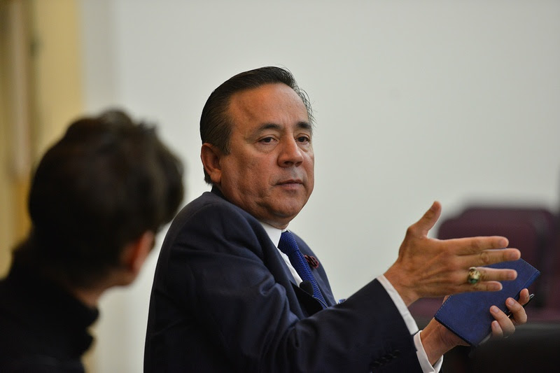 State Sen.Carlos Uresti, accused of misleading a former client who invested in a company in which Uresti has a financial stake, was indicted by a federal grand jury on 11 charges over his involvement in the allegedinvestment Ponzi scheme, one of two separate indictments issued Tuesday.