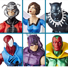 MARVEL LEGENDS VINTAGE WAVE 2