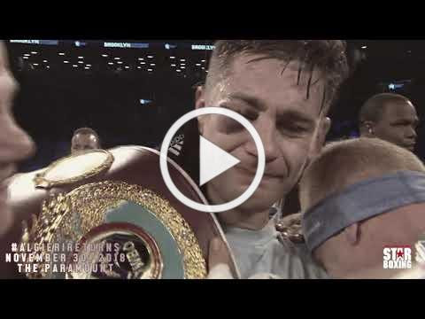 The Return Home of Chris Algieri