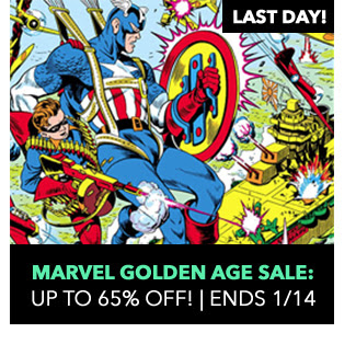 Marvel Golden Age Sale: up to 65% off! Sale ends 1/14.