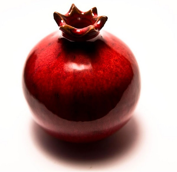 Pomegranate Sculpture