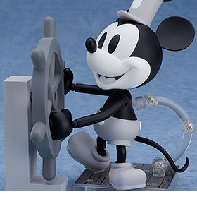 STEAMBOAT WILLIE NENDOROID NO.101A & B MICKEY MOUSE
