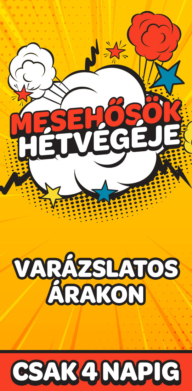 Mesehősök hétvégéje - JátékBolt.Hu