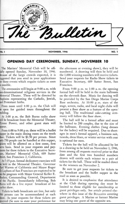 The Bulletin, debut edition from 1946