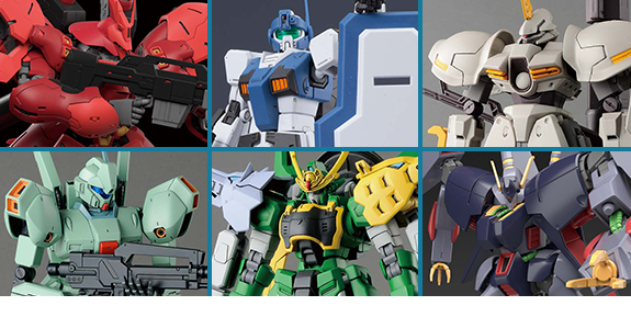BANDAI JAPAN GUNDAM MODEL KITS