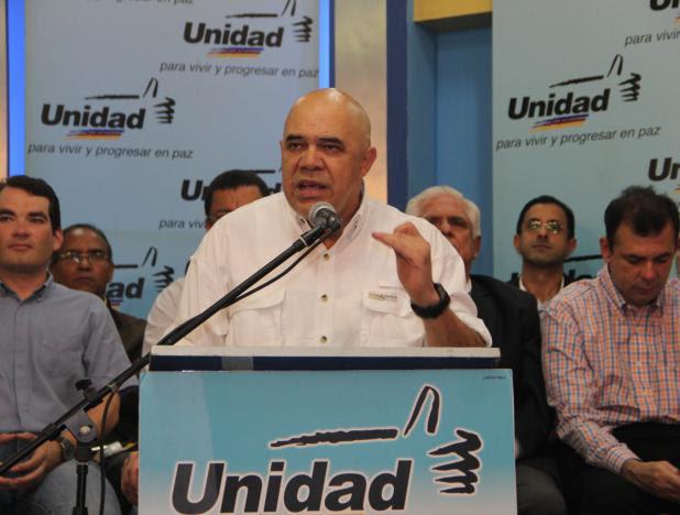 El dirigente de derecha Jesús Chuo Torrealba