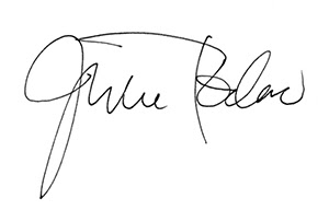 Julie Todaro signature