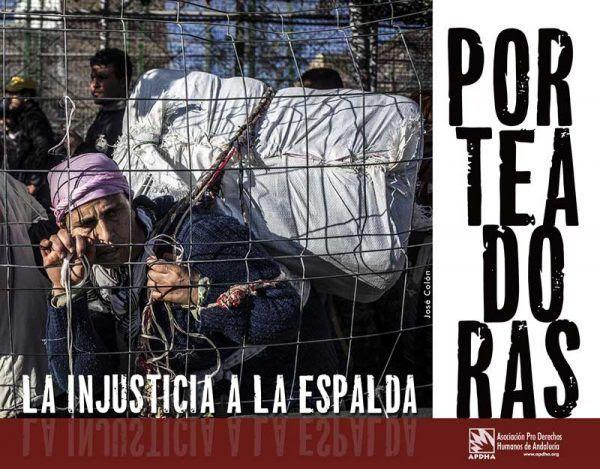 """APDHA denuncia la """"alarmante pasividad"""" ante las repetidas muertes de porteadoras en la frontera con Ceuta"""