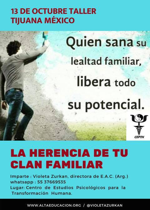 Invitados al Taller La Herencia de tu Clan Familiar