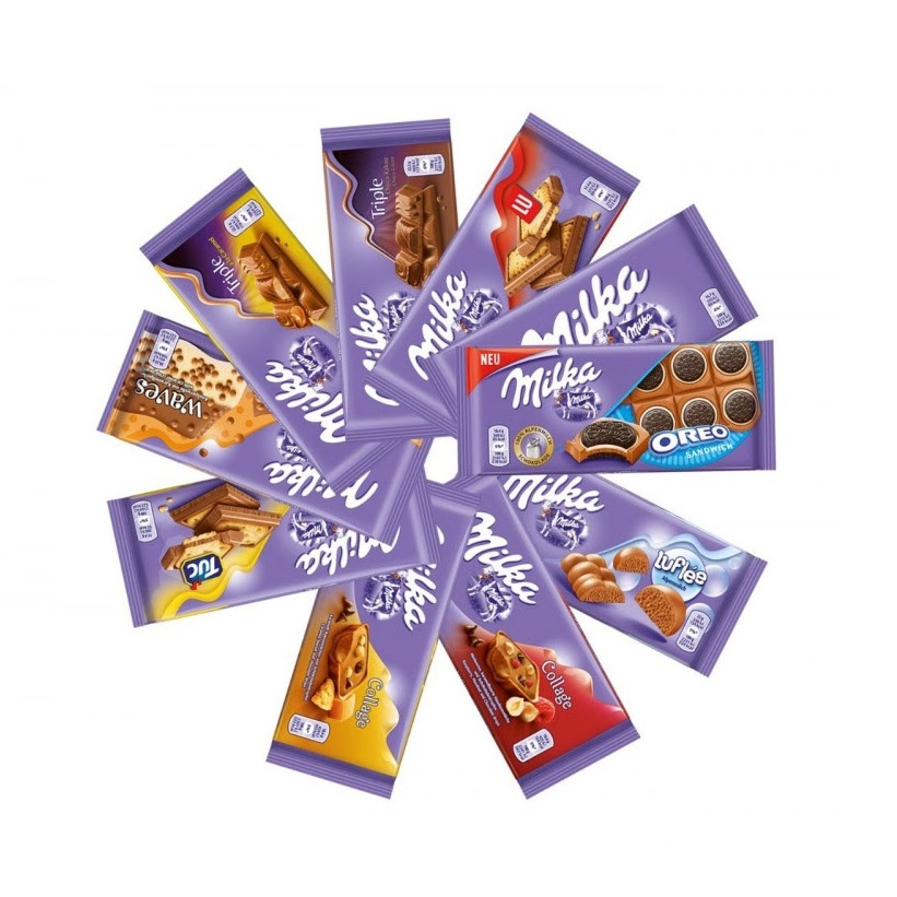Milka 100g Different Flavours