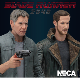 BLADE RUNNER 2049 DECKARD & OFFICER K FIGURES