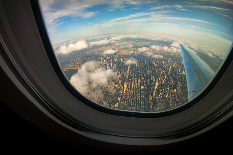 new york city from an airplane window aerial from above 27 Reasons You Should ALWAYS Ask for a Window Seat