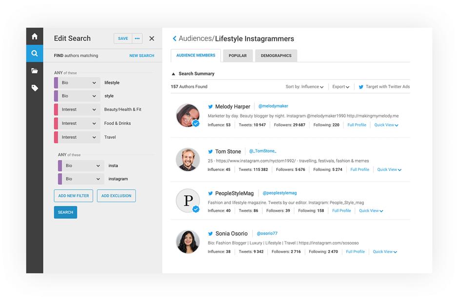 brandwatch social listening tool