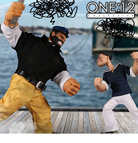 Popeye One:12 Collective Popeye & Bluto Stormy Seas Ahead Deluxe Box Set