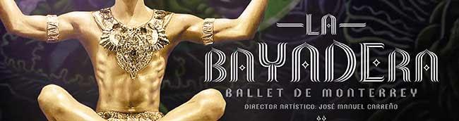 La Bayadera. Ballet de Monterrey. Director Artistico José Manuel Carreño
