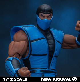 Mortal Kombat 3 VS Series Sub-Zero 1/12 Scale Figure