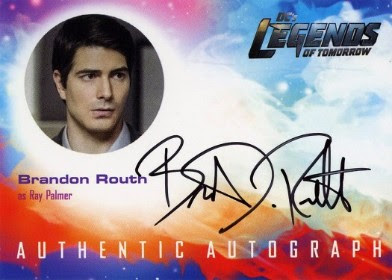 DC's Legends of Tomorrow Trading Cards Seasons 1 & 2 - Autograph Card - Routh