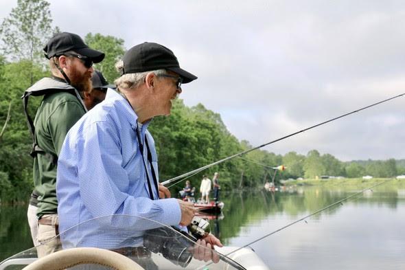 Gov DeWine on Inland Fish Day2
