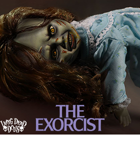 THE EXORCIST LIVING DEAD DOLLS FIGURE