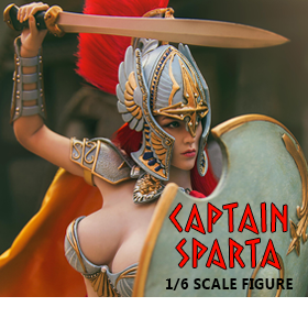 1/6 SCALE CAPTAIN SPARTA FIGURE
