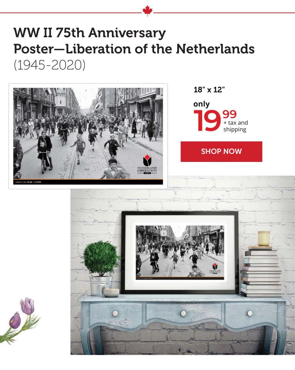 Liberation of the Netherland Prints