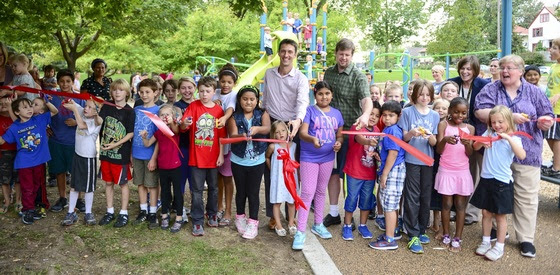 Windom NE Park Playground Ribbon Cutting