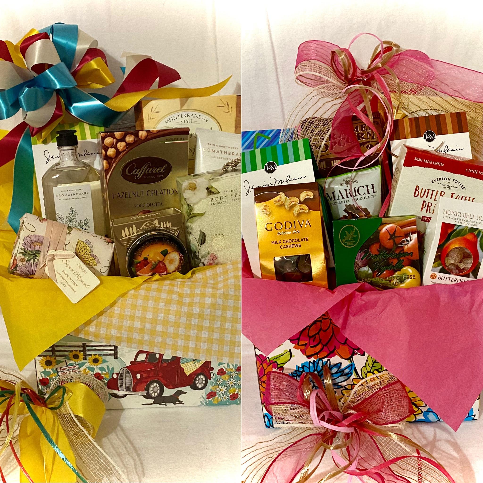 Sending Sunshine Your Way & Flower Box of Treats