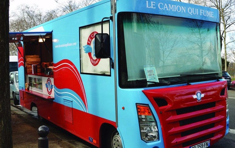 Gourmet Food Trucks in Paris