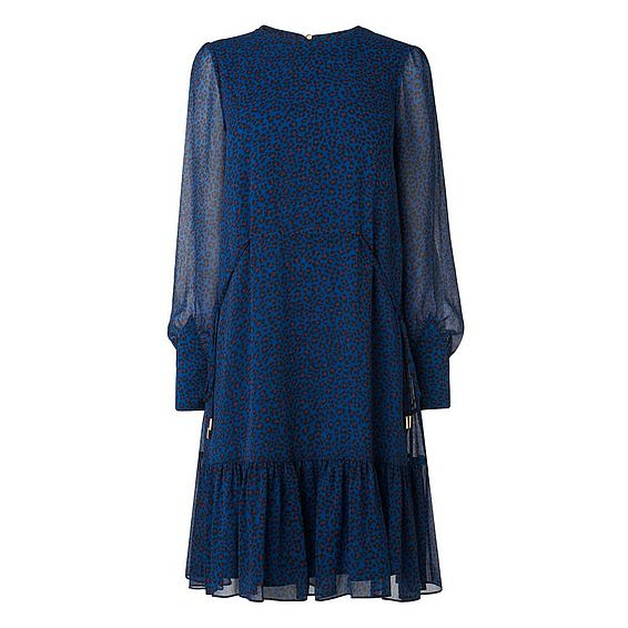 Dakota Blue Animal Print Dress