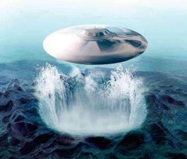 Alien Base Inside The Bermuda Triangle