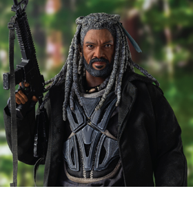 The Walking Dead King Ezekiel 1/6 Scale Figure